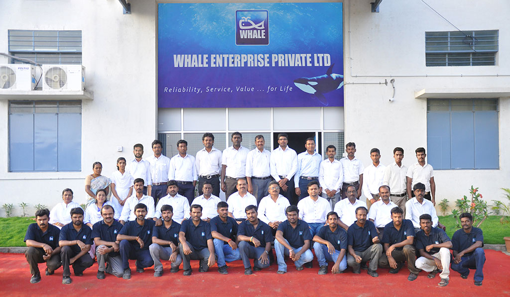 Whale Enterprise Team Photo