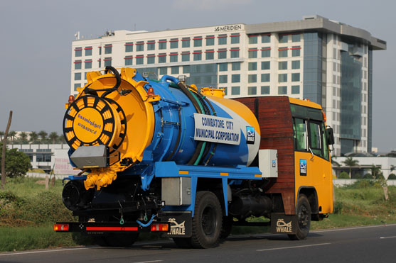 Coimbatore Fully Loaded Tanker